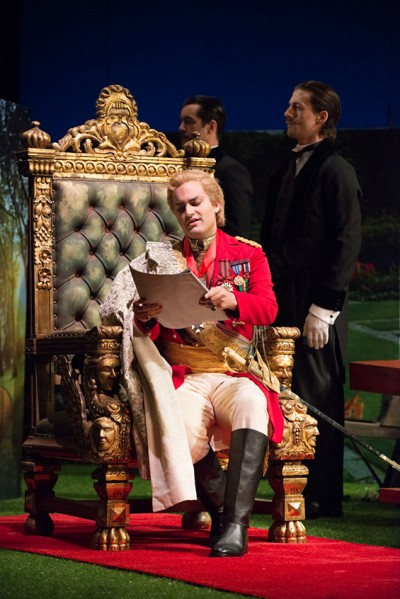 "Theo Lebow as Count Belfiore in ""La Finta Giardiniera at San Francisco Merola"