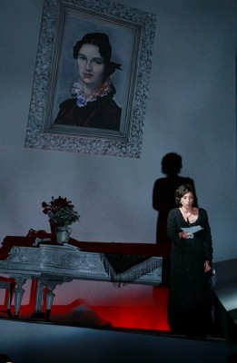 "Christina Gill as Charlotte in ""Werther"" at CCM"